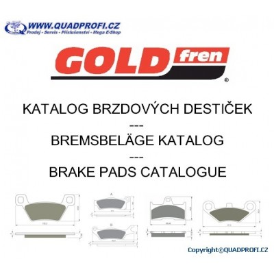 ON-LINE Brake Pads Catalogue Goldfren