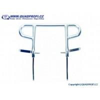 Hand bar rear SilverTec for Yamaha Raptor YFM 700 R
