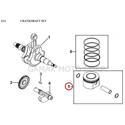 Piston - 924004A - for Gamax AX 430 TGB 425