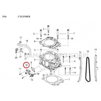 Tensioner cam chain - 924014 - Gamax AX 430 TGB 425