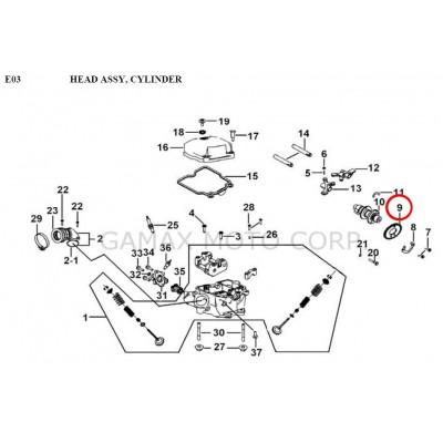 TIMING SPROCKET 34T GB-69 - 924036 - Gamax AX 430 TGB 425