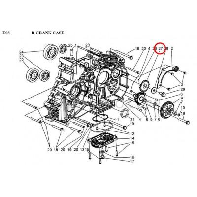 GEAR, DRIVEN - 924117 - for Gamax AX 430 TGB 425