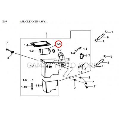 Air filter - 924120 - Gamax AX 430 TGB 425