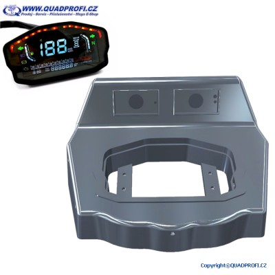 Odometer Tacho Digital Color + Cover for GAMAX AX 600