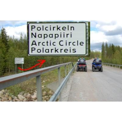 ATV Expedice Dirty Sweden za polární kruh a zpět