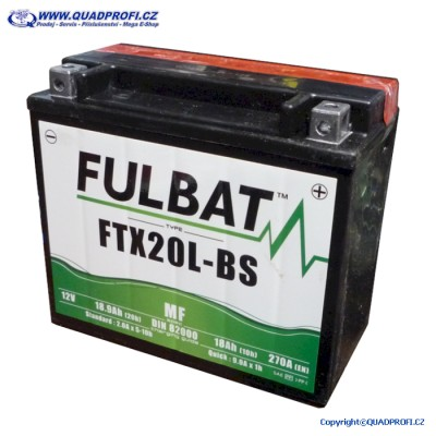 Akumulátor FULBAT FTX20L-BS