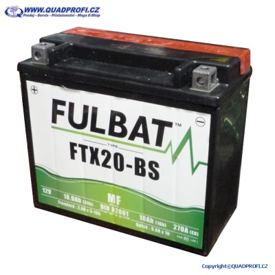 Akumulátor FULBAT FTX20-BS