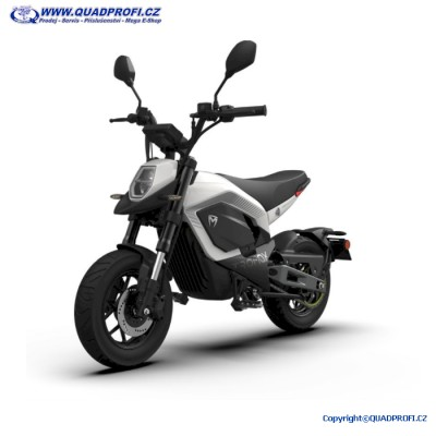 TROMOX Elektro Mini Bike - bílá
