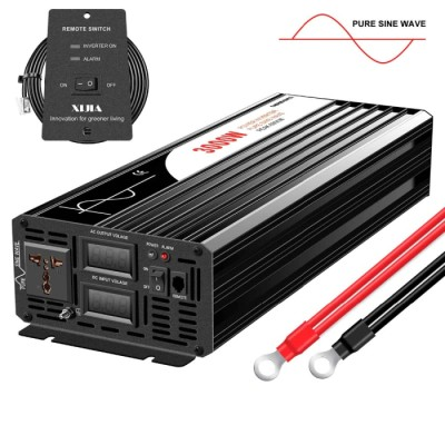 Měnič - Invertor 48V 3000W - Peak 6000W - čistý sinus