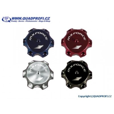 Tankdeckel Alu MXF für SMC RAM JUMBO Titan Tomahawk 170 200 250 300 301 302 320 500 - Ersatz für 43102-RAM-00