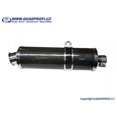 Tlumič výfuku QP karbon pro 170-400ccm