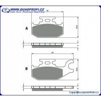Brake Pads Goldfren K5 for CanAm G1 500 650 800 Mod 2008-2011