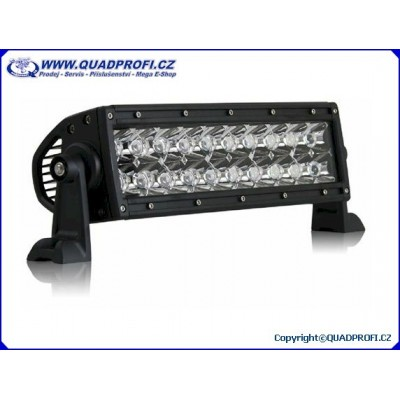 Světlomet LED rozptýlený + dálkový 24LED 72W 8640LM
