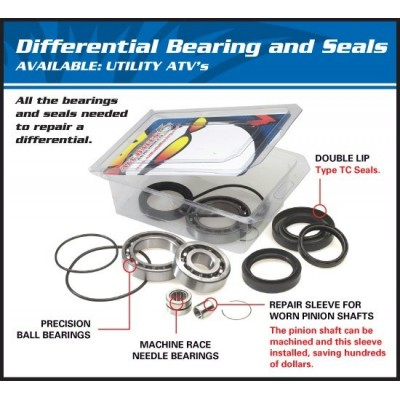 Differential Bearing and Seal Kit - 25-2051