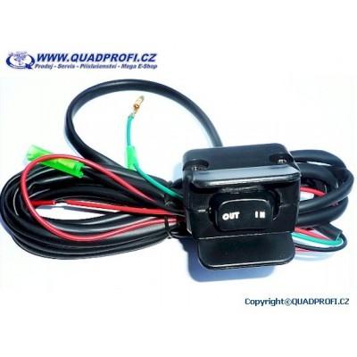 Mini-Rocker Switch for ATV Winch
