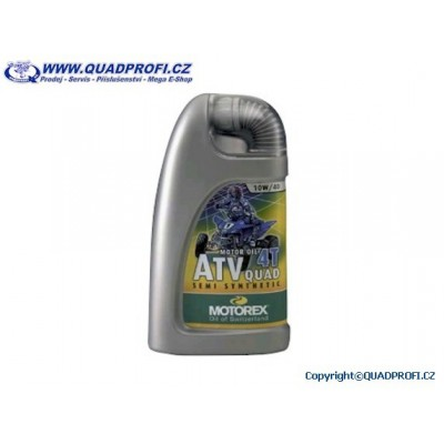 Motorový olej Motorex ATV/QUAD 10W40 4T