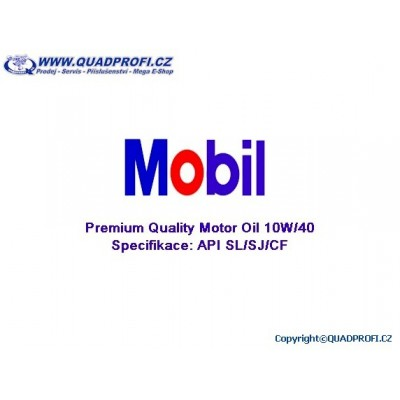 Motor Oil Mobil Super 10W40
