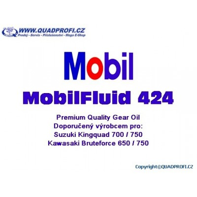 Gear Oil Mobil Fluid 424
