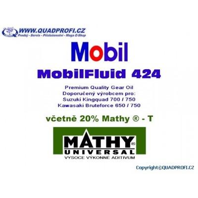 Převodový olej Mobil Fluide 424 vč. 20% MATHY