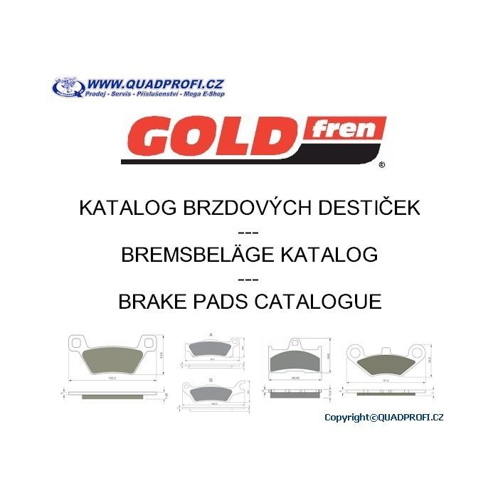 ON-LINE Katalog brzdových destiček Goldfren