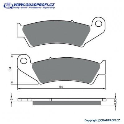 Brake Pads Goldfren 041 K5