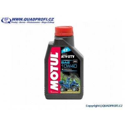 4-Takt Engine Oil Motul Quad 10W40 1 liter