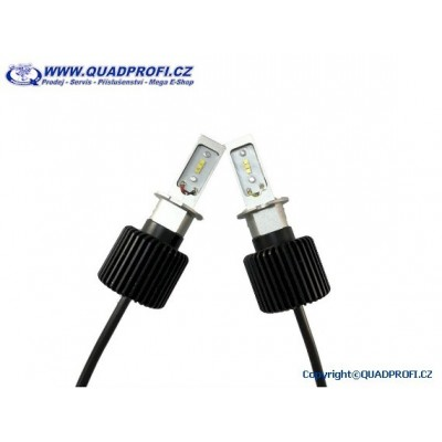 Autožárovky do světlometu LED G7 H3 4000LM