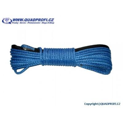 Syntetické lano pro ATV s okem 5mm 15m