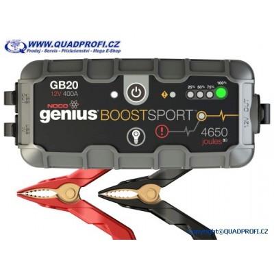 Jump Starter Start Booster NOCO GB20 Boost Sport 400A 12V