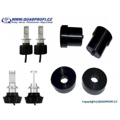 Set LED Bulbs and Rubber cap for SMC Jumbo 250 300 301 302
