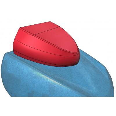 Domeček na digitální instrumenty pro Suzuki Kingquad 700 750