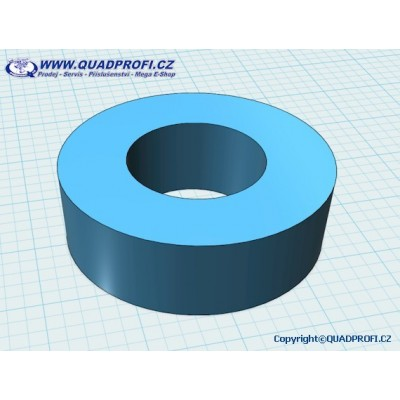 Distance ring for wheel plates for Gamax 600