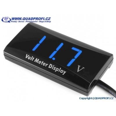 Voltmeter QPP - Waterproof - blue - red - white