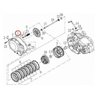 Těsnění kryt vpravo - 15221-CGV-00