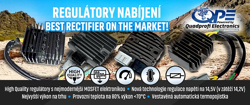 Regulátory QPE - Quadprofi Electronics